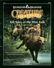 Creature Crucible Supplement 1: Tall Tales of the Wee Folk