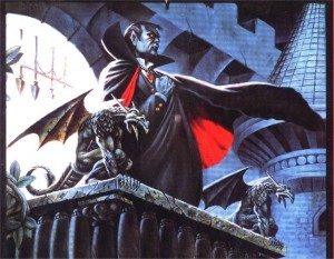 Strahd, from the classic Ravenloft AD&D Adventure Module