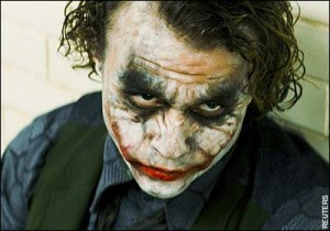 Heath Ledger's Joker from &quot;The Dark Knight&quot;