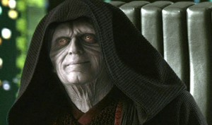 Emperor Palpatine from Revenge of the Sith