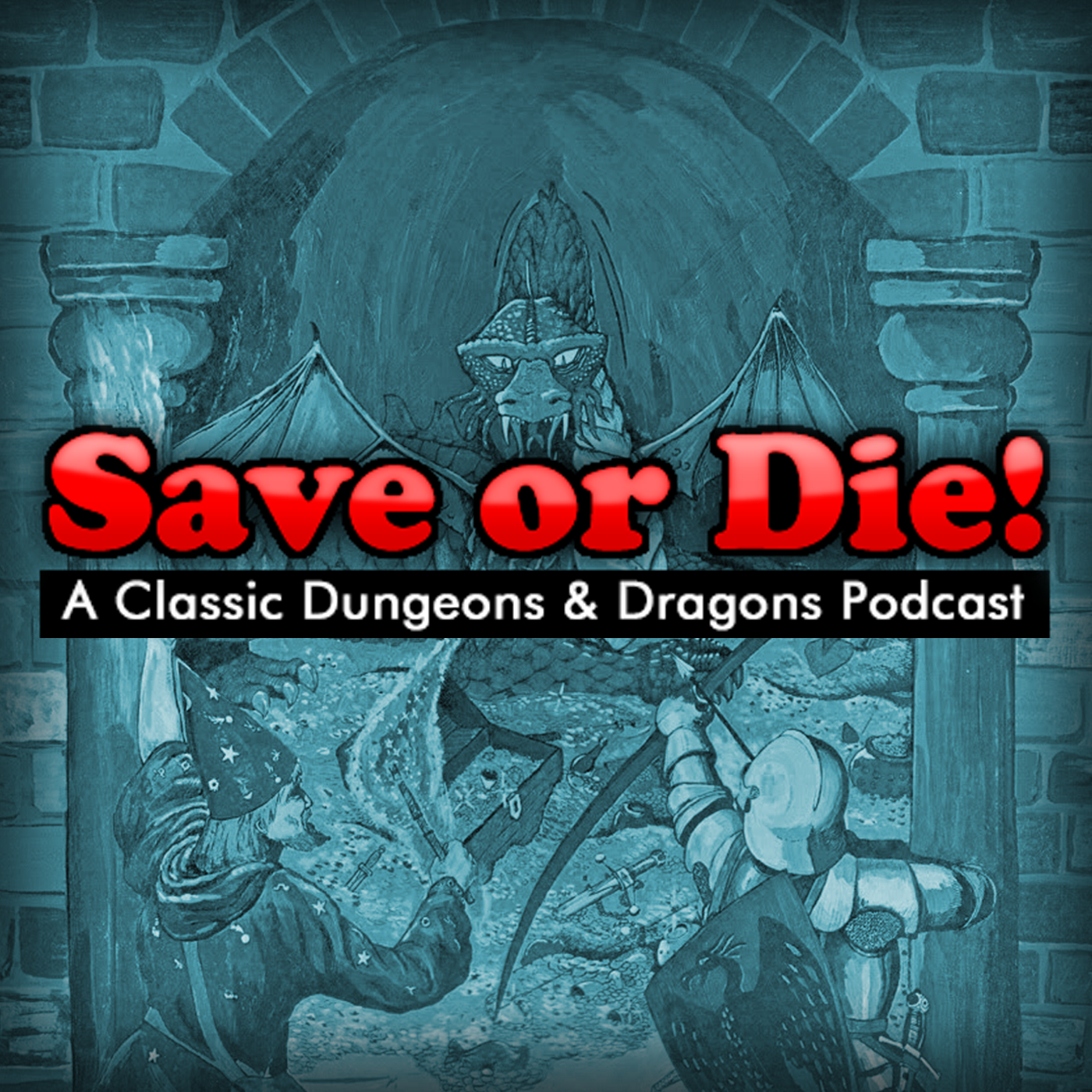 Save or Die Podcast logo