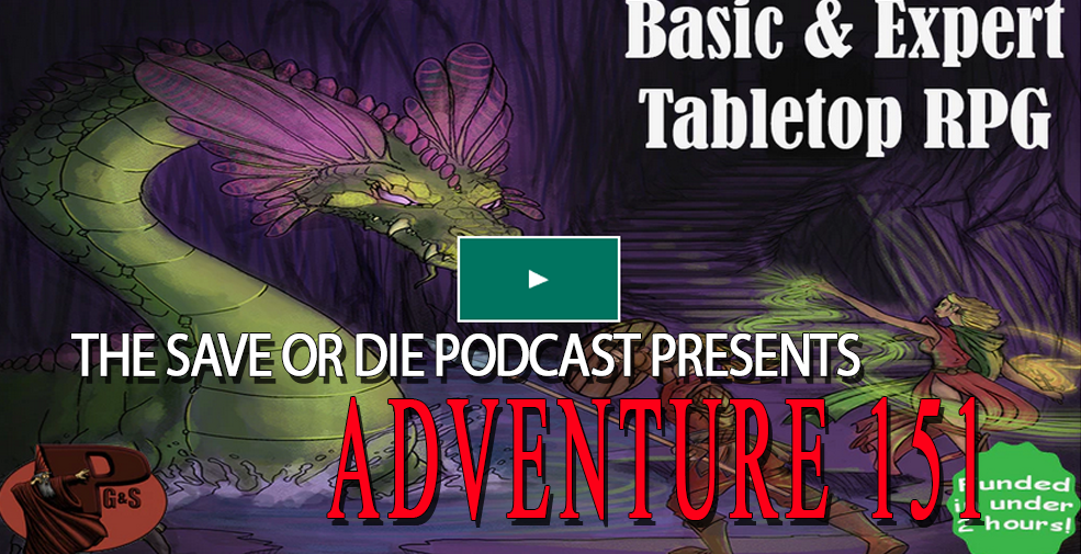 Adventure 151 – Basic and Expert Remastered